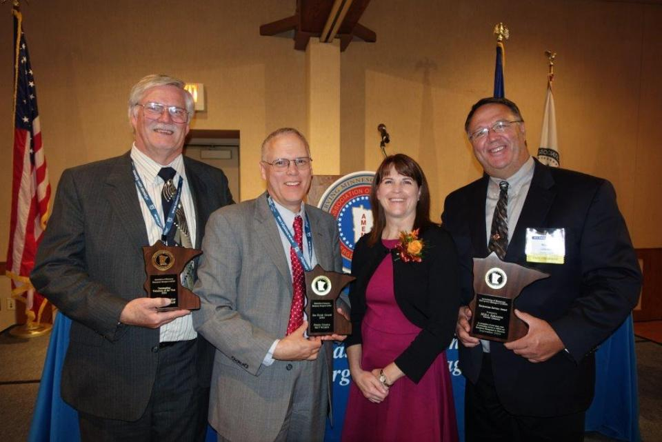 Mike Johnson received the AMEM Meritorious Service award